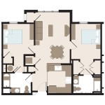 The Camden 2 Bedroom | 909 sq. ft.$ Call For Pricing